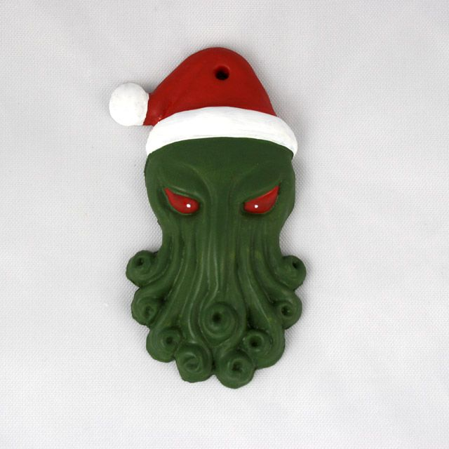 Santa Cthulhu Ornament - Journal - Thirdroar - The Art of Amy L ...