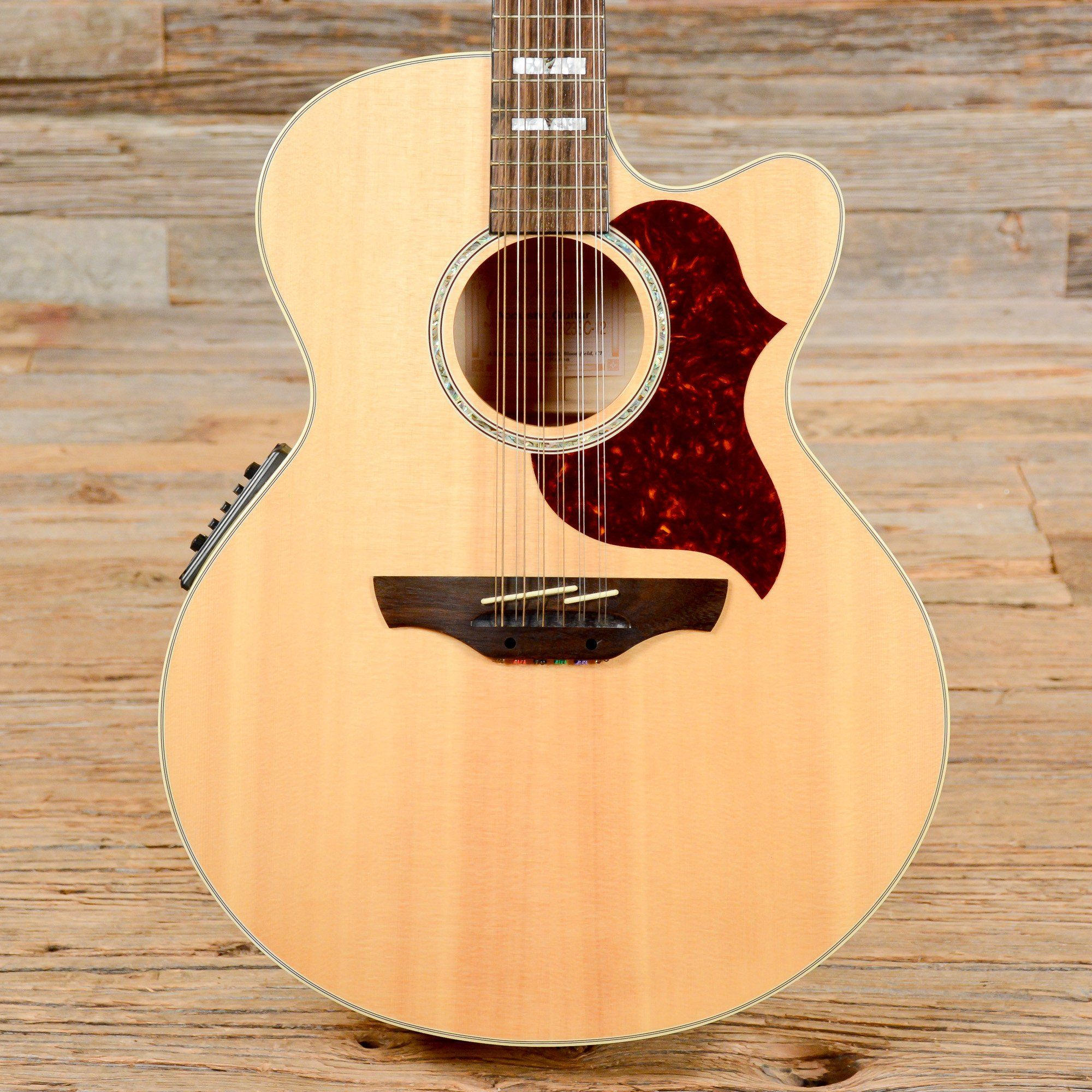 2bdb53356cb Takamine EG523SC-12 Natural Acoustic-Electric 2004 (s058) 12 String Guitar