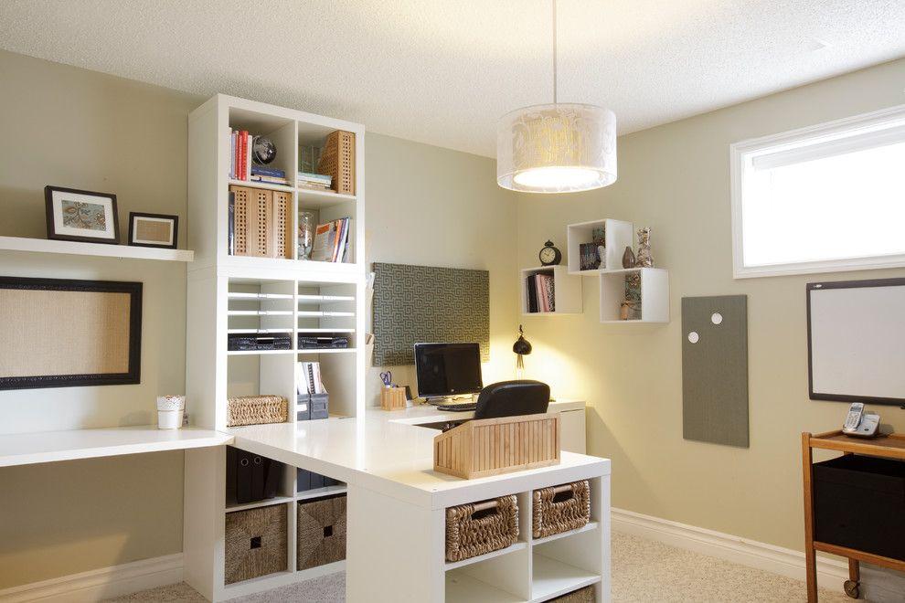 11 best ideas about Office on Pinterest | Desks ikea, Ikea hack desk and  Bookcases