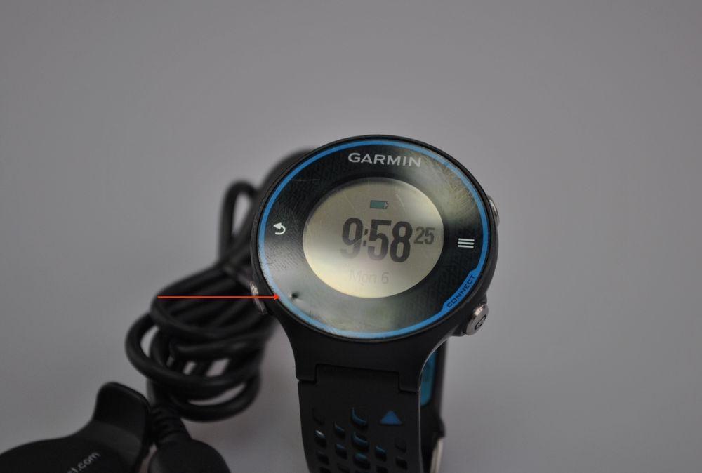Garmin Forerunner 620  Black Blue Running Watch Marathon 10K 26.2 13.1  #Garmin