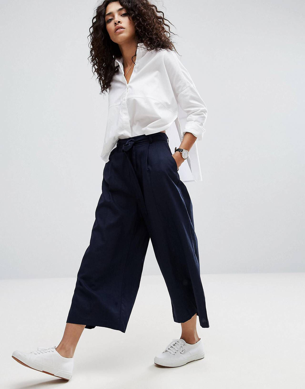asos jupe culotte en lin casual stylish looks pinterest jupe culotte asos et jupes. Black Bedroom Furniture Sets. Home Design Ideas