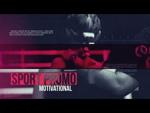 Sport Promo Motivational After Effects Project Videohive