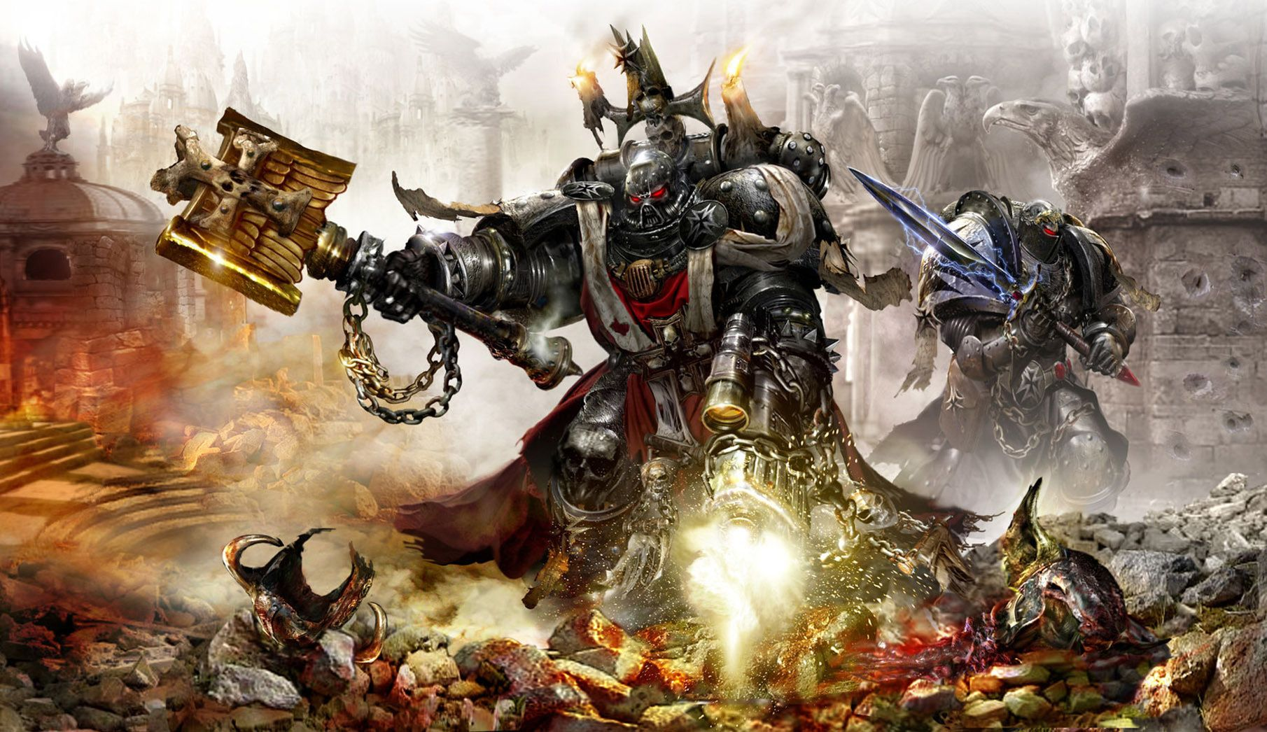 Pin By Robert Shea On 50k Black Templars Space Marine Warhammer