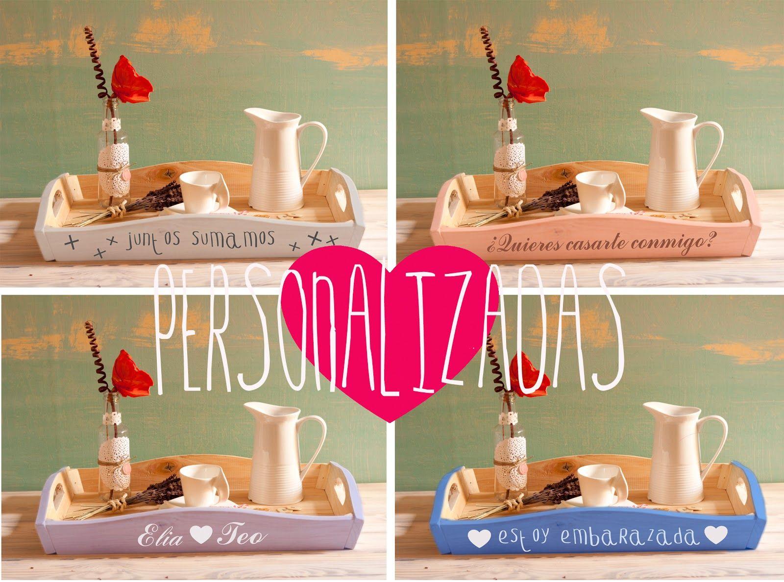 bandejas personalizadas para cada ocasión by Fiesta y chocolate