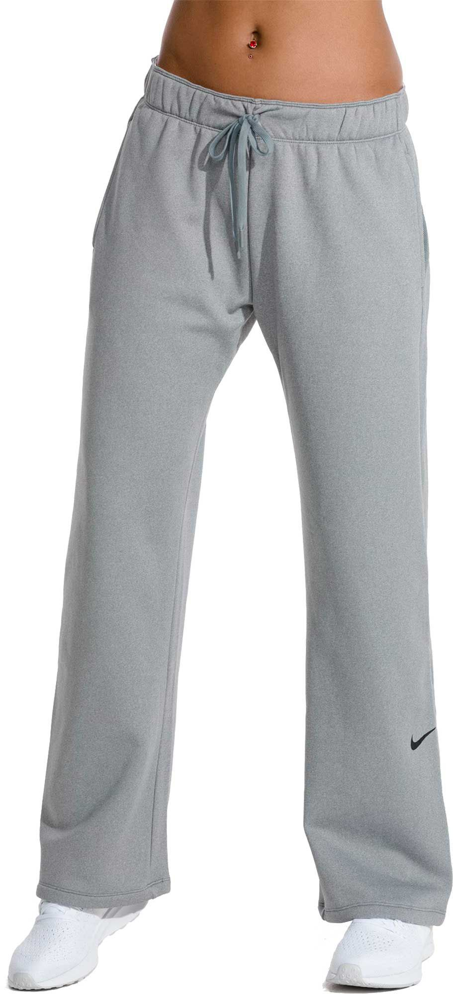 best sneakers 6bb40 473c6 Nike Women s Therma Fleece Training Pants, Cool Grey