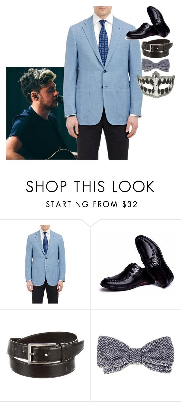 """Mason Evans"" by ashleyr0sexo ❤ liked on Polyvore featuring Isaia, Prada, Black, Masquerade, men's fashion and menswear"
