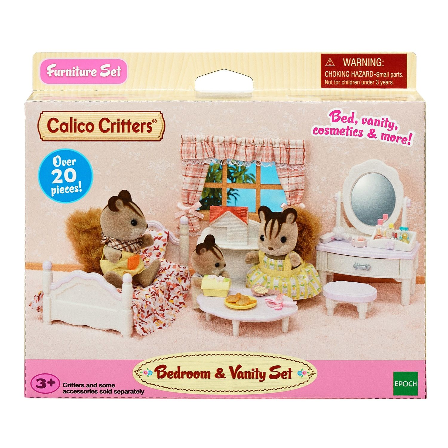 Calico Critters Bedroom And Vanity Affiliate Critters,