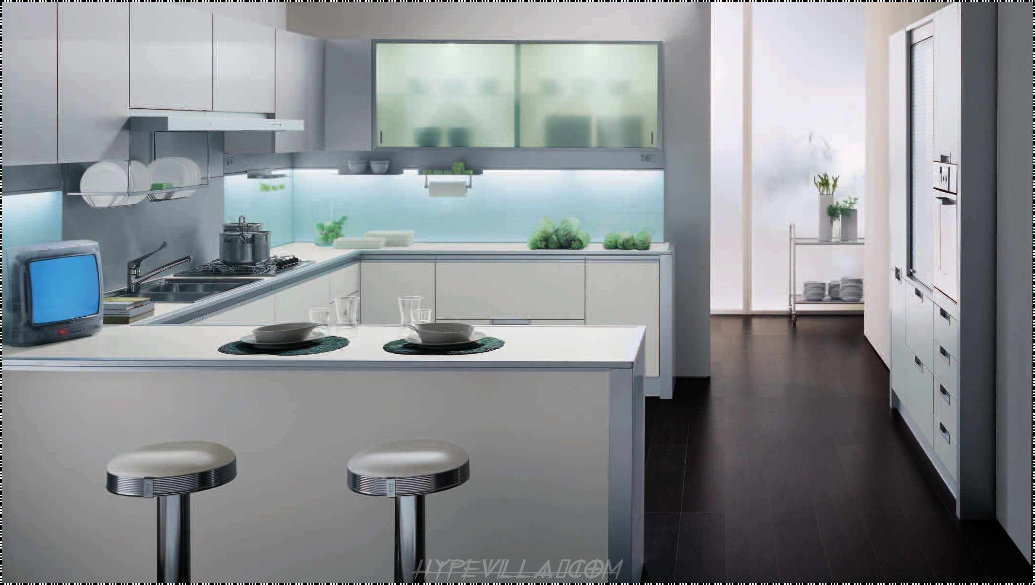 Beautiful Modern Kitchen for Small House- Encouraged to be able to ...