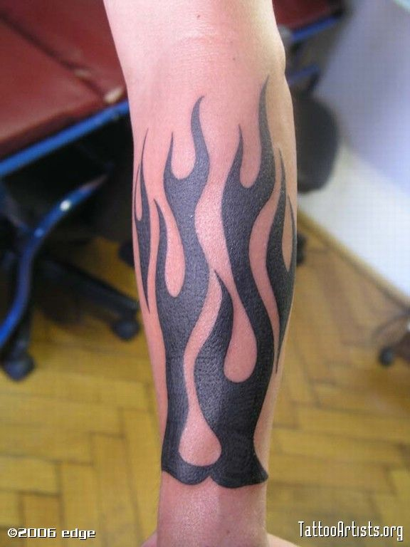 Arm Flame Tattoos Tattoo La Free Download Flame Forearm Troy