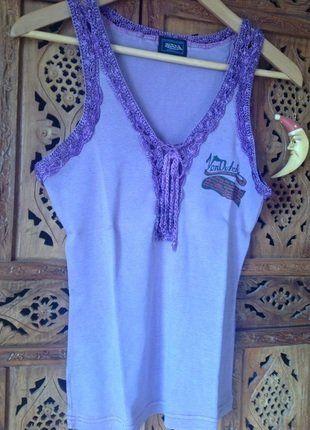 À vendre sur #vintedfrance ! http://www.vinted.fr/mode-femmes/debardeurs/25705755-top-von-dutch-36-debardeur