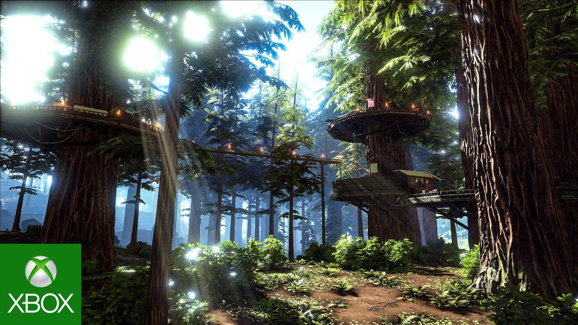 Ark Survival Evolved Redwood Biome And Spotlight Titanosaur Take