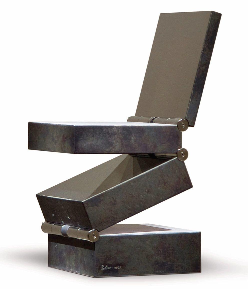 ron arad chair interior design exclusive art furniture wandelbar pinterest st hle. Black Bedroom Furniture Sets. Home Design Ideas