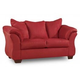 bern loveseat red chaises loveseats living spaces furniture home rh pinterest com
