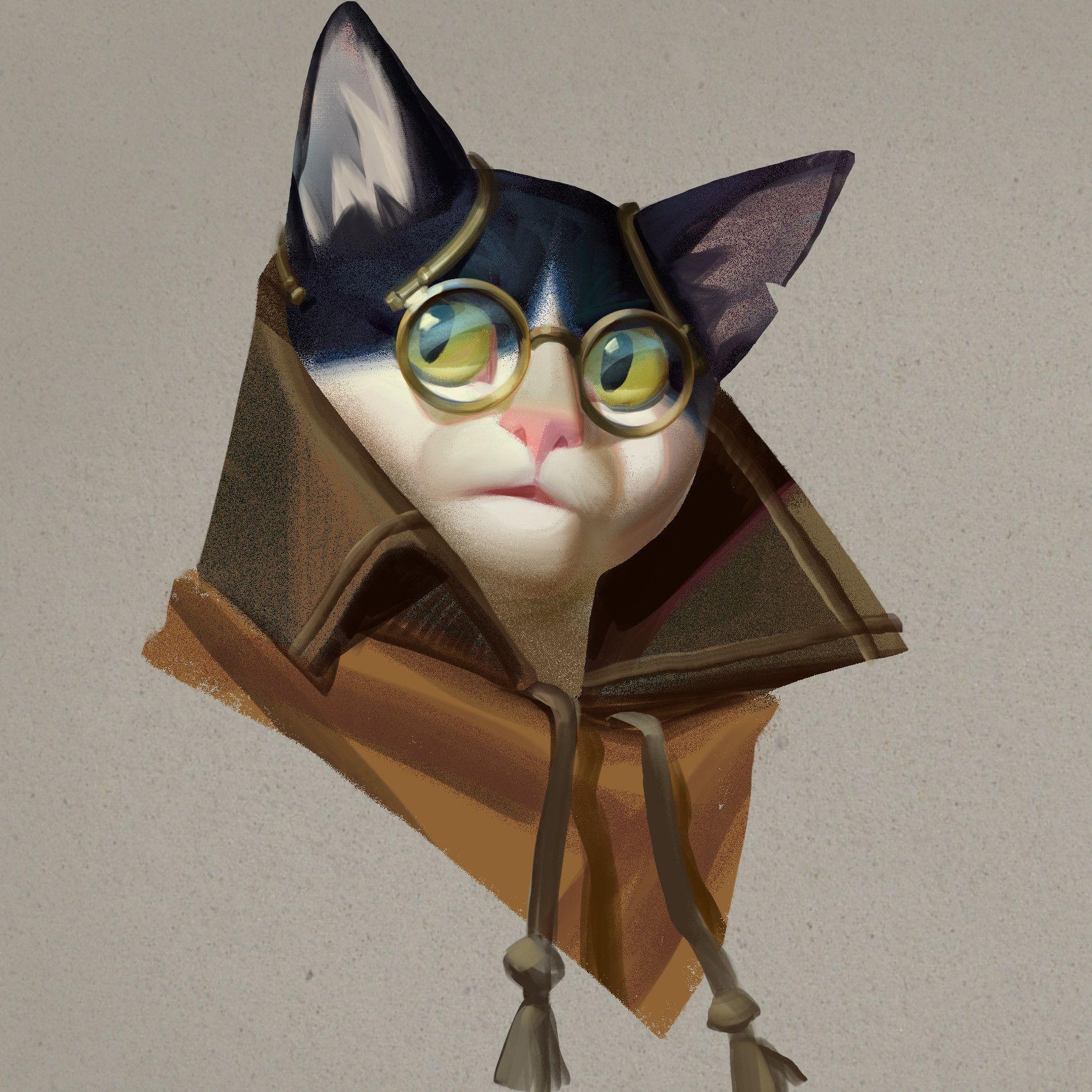 Artstation Cat I M A Kitty Cat Alexandra Frantseva Character