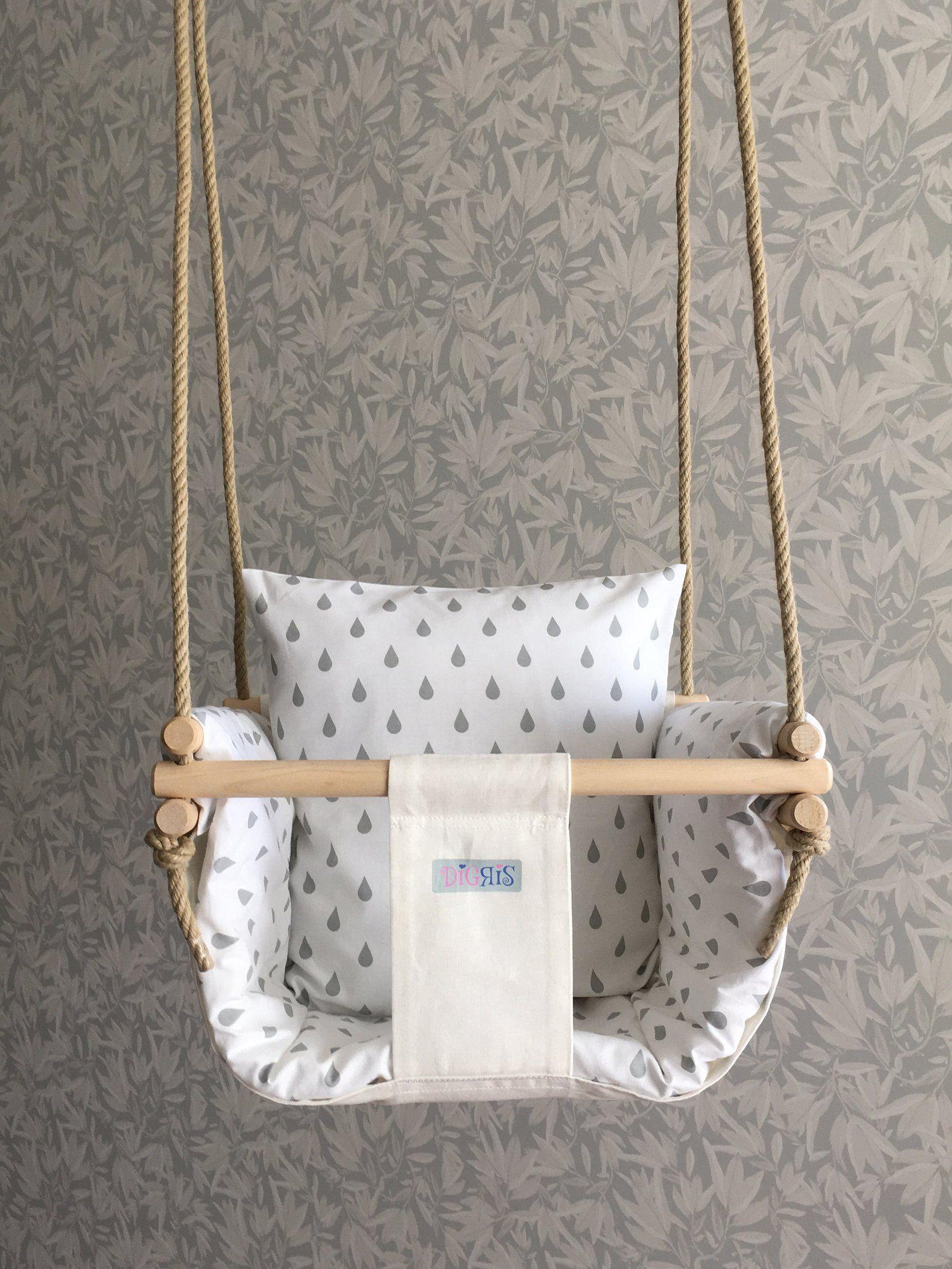 Baby Babytoddler Chair Decor Indoor Interior Nordic Scandinavian Set Style Swing Comfy Digris Baby Swing In 2020 Baby Swing Set Baby Swing Chair Baby Swings