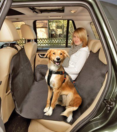 PLUS PO Protection Siege Voiture Protection Siege Arriere Voiture Chien Dog Cover for Back Seat of Car Car Seat Protector Dog Car Seat Dog Cover