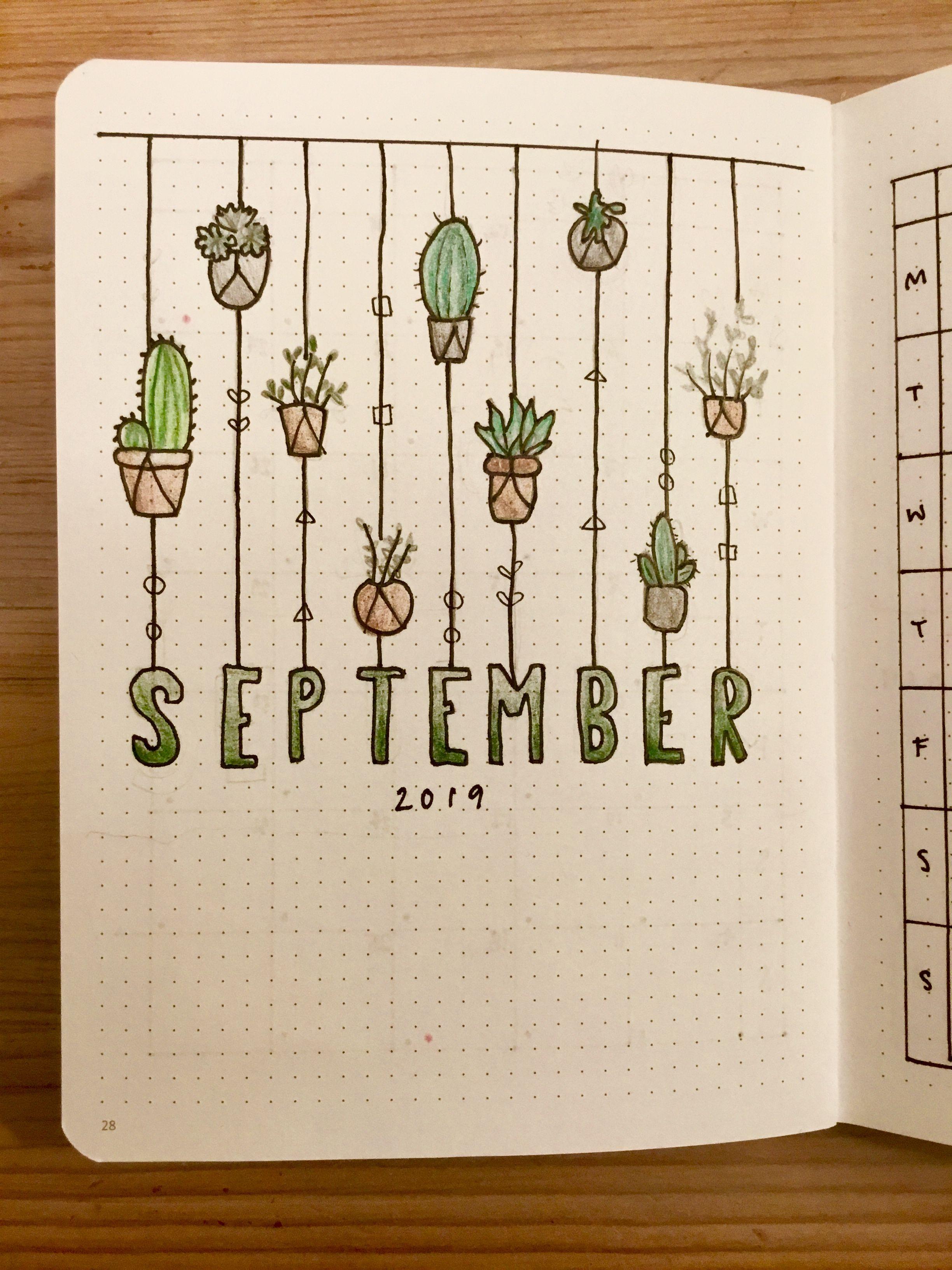 Bullet journal theme   September   Bullet journal september ...
