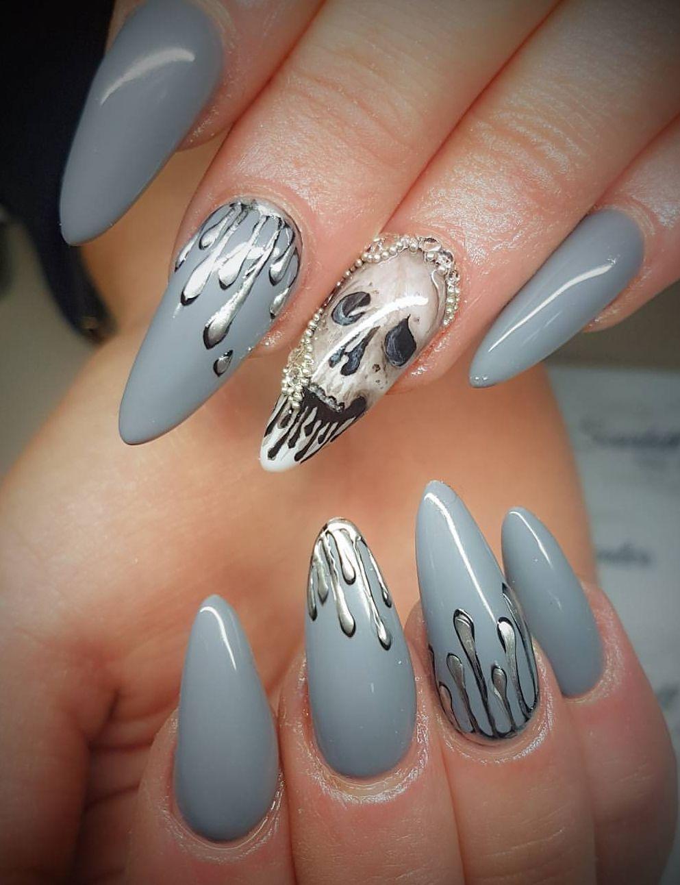 Pin de Debbie Borque en Nail me! | Pinterest | Uñas stiletto