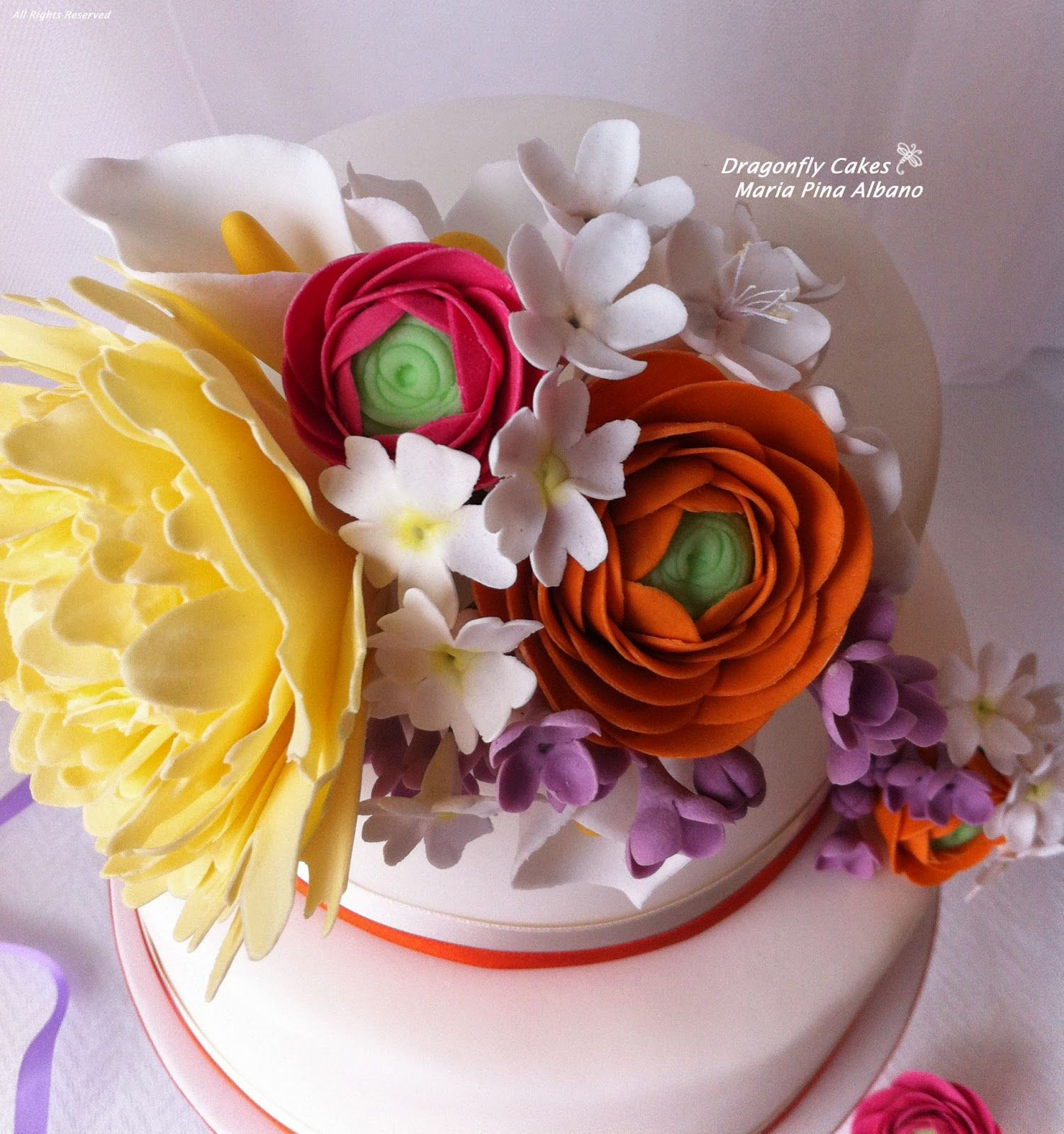 Spring cake Torta 'Fioritura'