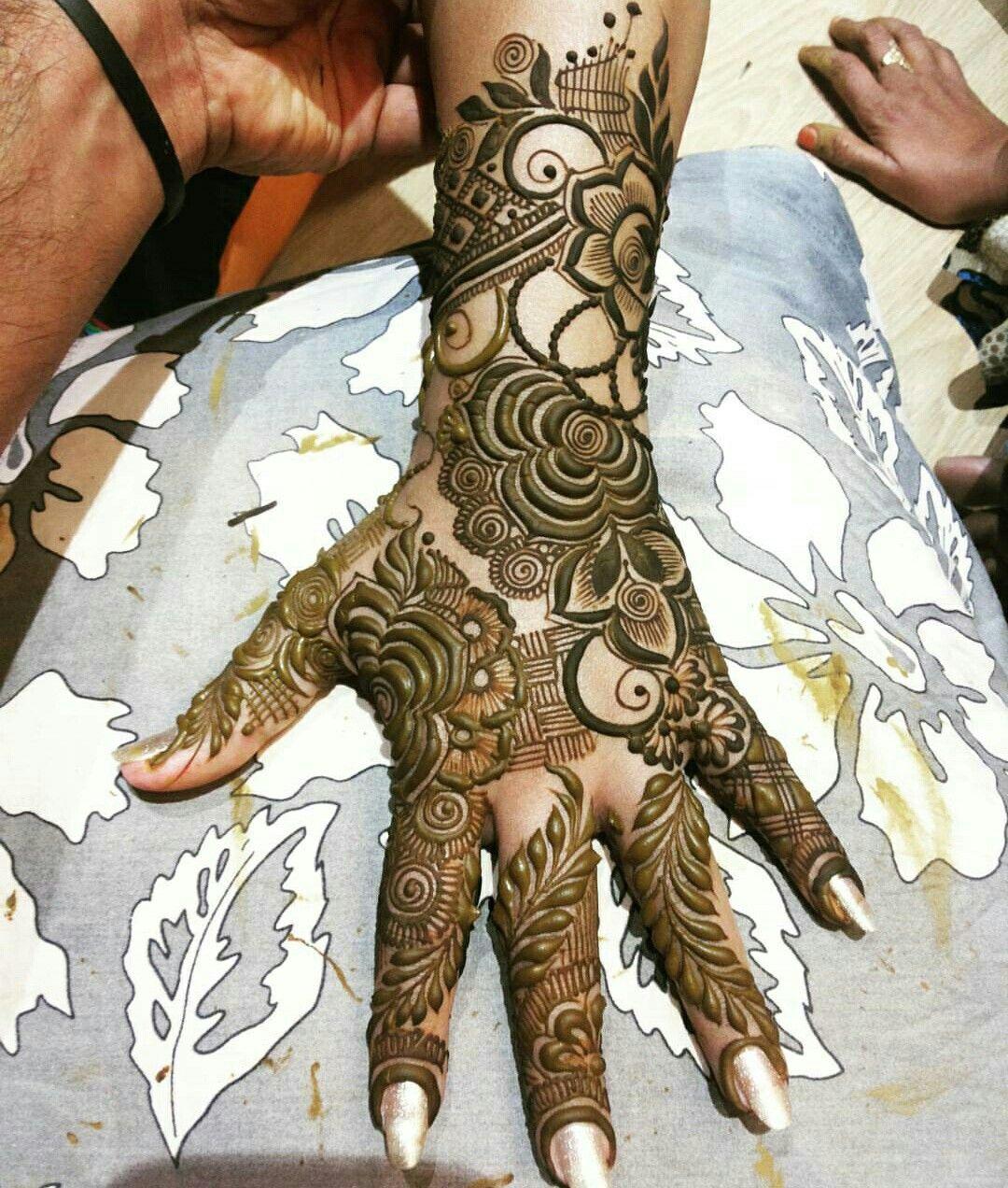 Lovely Latest Henna Designs Mehndi Designs Modern Mehndi Designs