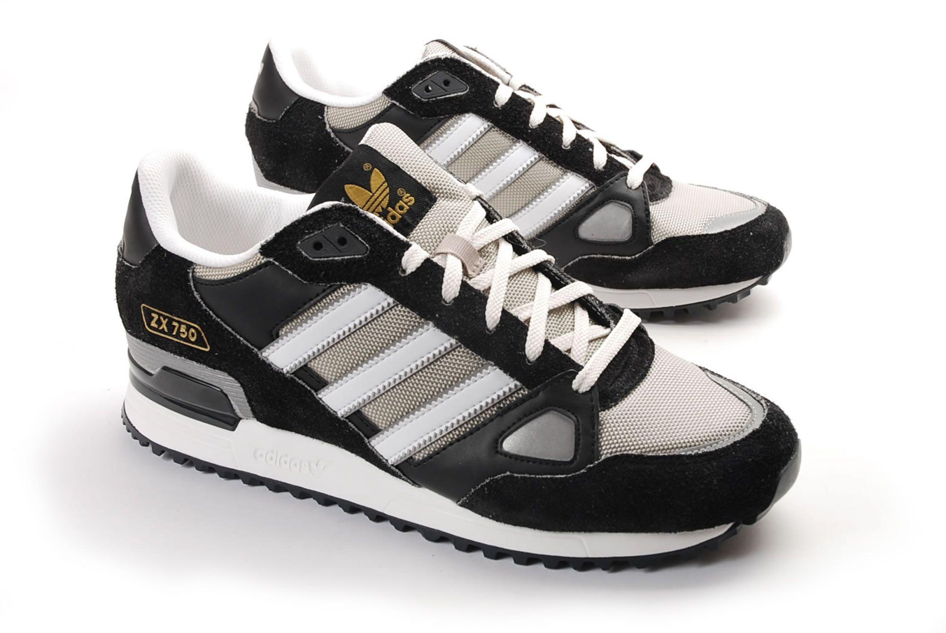 acheter populaire b9744 a8057 Adidas Zx 750 Noir | ...on my feet... | Adidas, Adidas zx ...