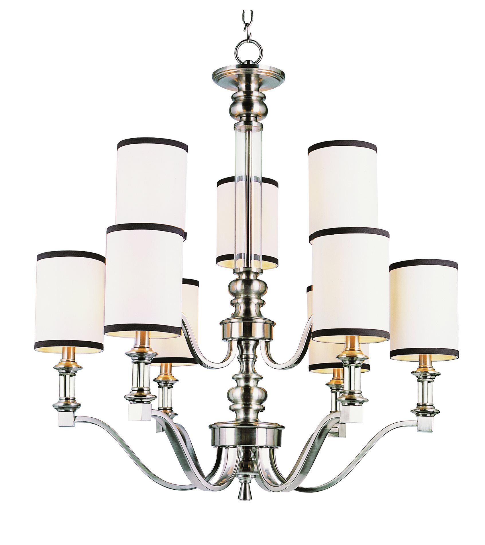 South shore decorating trans globe lighting 7979 bn modern meets traditional chandelier tg 7979
