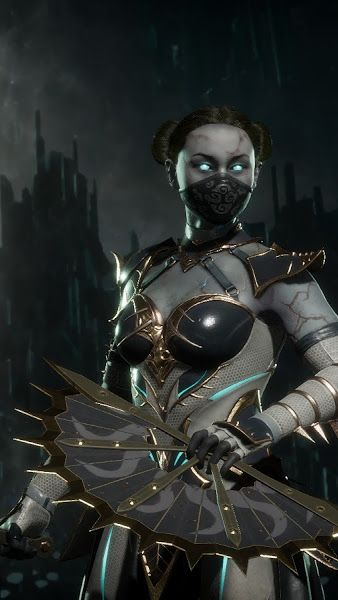 mortal kombat 11 kitana wallpaper hd