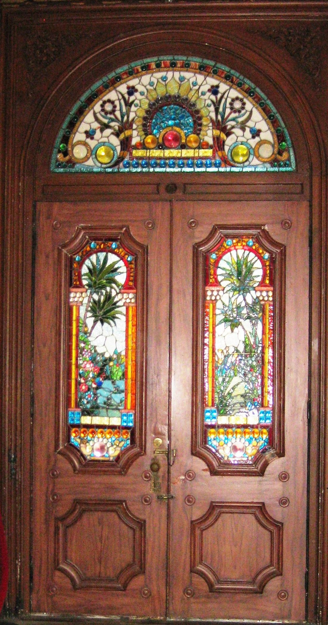 Stained Glass Doors Atlanta