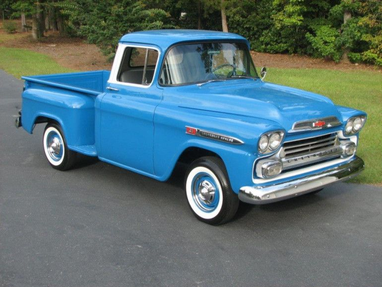 1959 Chevrolet Apache Pickup Image 1 Of 10 Chevrolet Apache