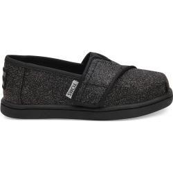 Photo of Toms Schuhe Schwarz Glimmer Classics Für Kleinkinder – Größe 19.5 TomsToms