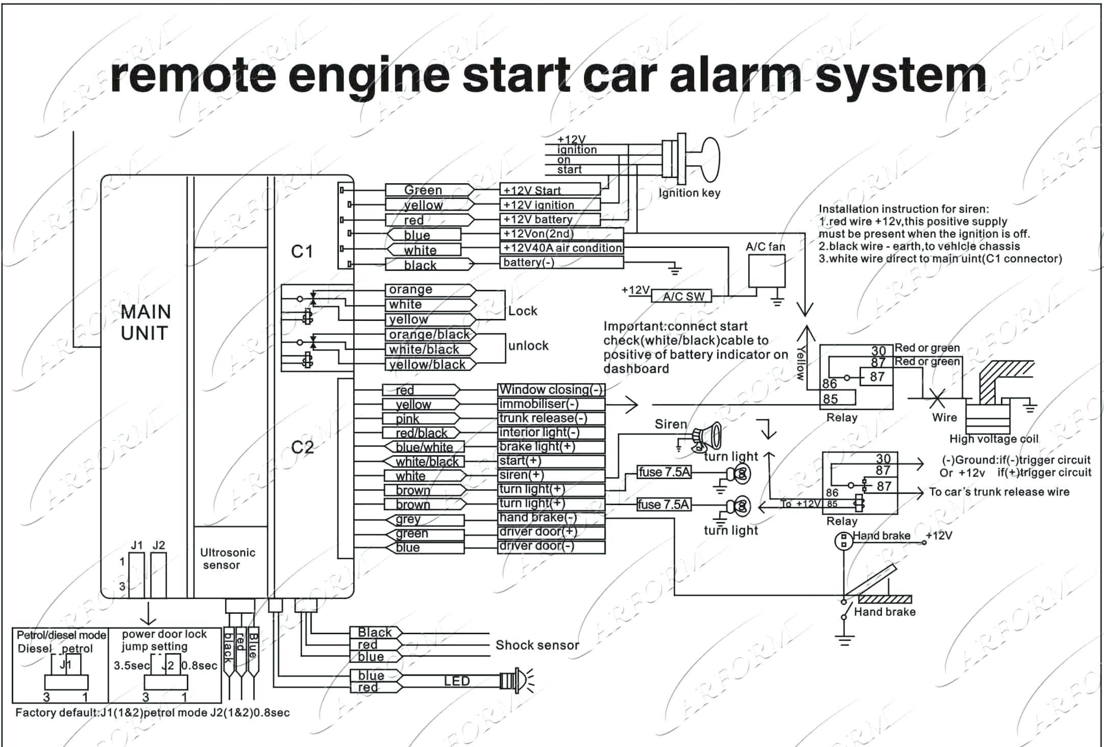 [EQHS_1162]  New Installation Wiring Diagram Of Motorcycle Alarm System #diagram  #diagramtemplate #diagramsample | Alarm Install Wiring Diagram |  | Pinterest