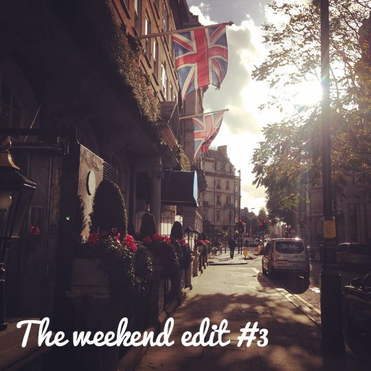 The weekend edit #3