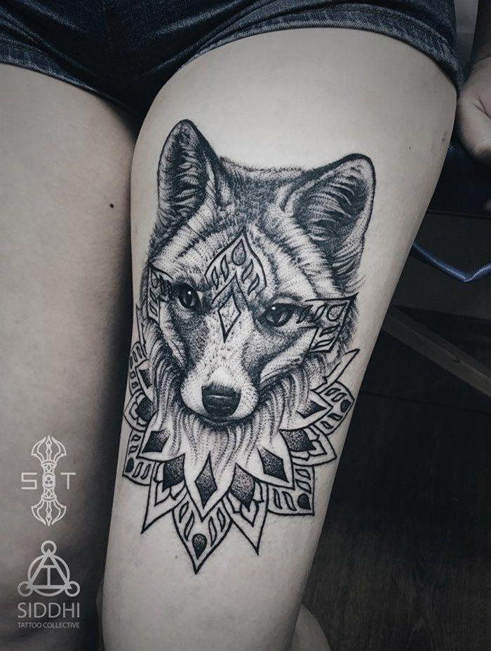 Тату лиса значение: что скрывает в себе татуировка лиса ...