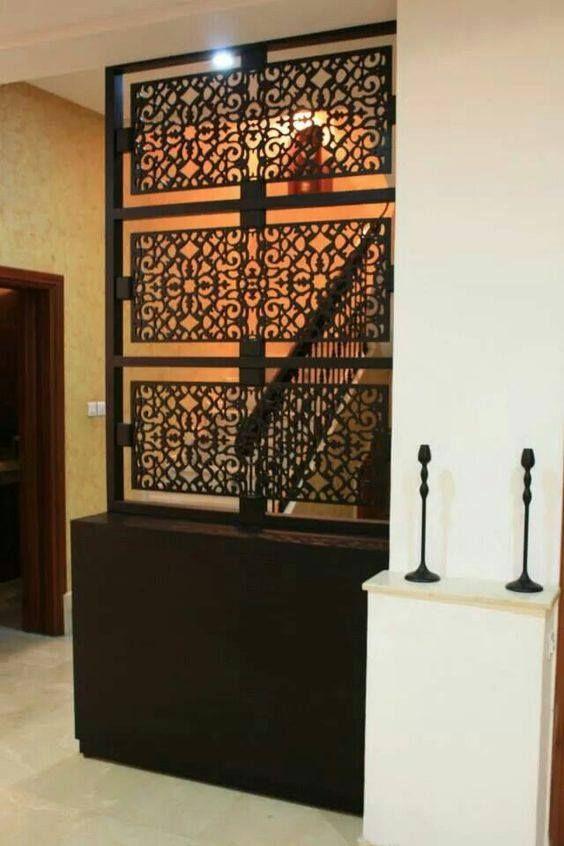 Claustra Et Separation Decoration D Interieure En 2020 Claustra Salon Marocain Deco Maroc