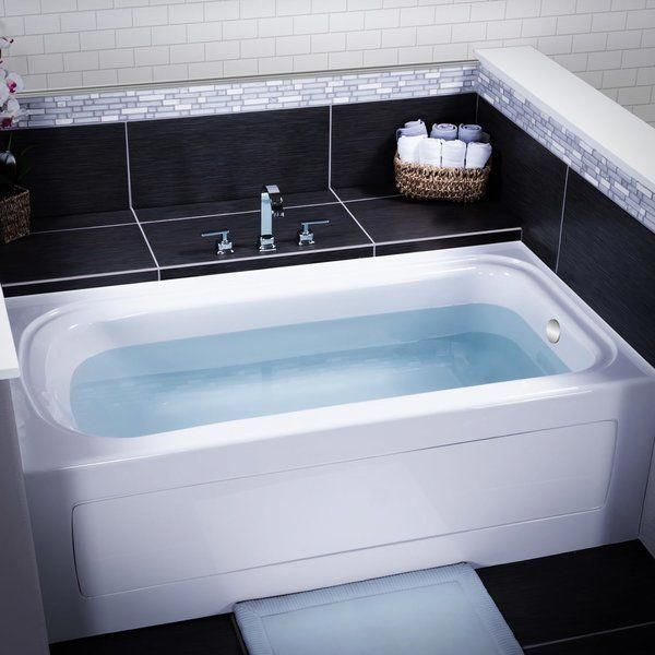 Indulgence 60 X 32 Three Wall Alcove Soaking Bathtub In 2019