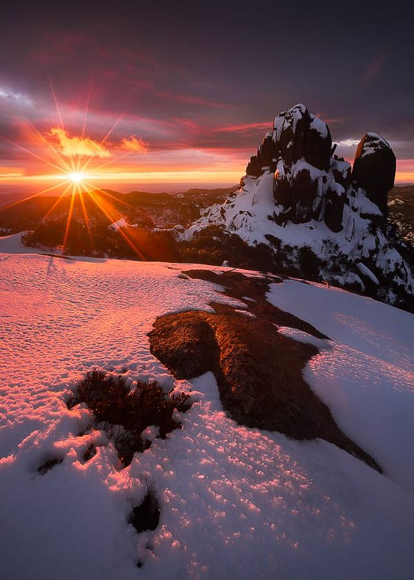 The Cathedral, Mt Buffalo National Park, Victoria Australia ~ Dylan Gehlken