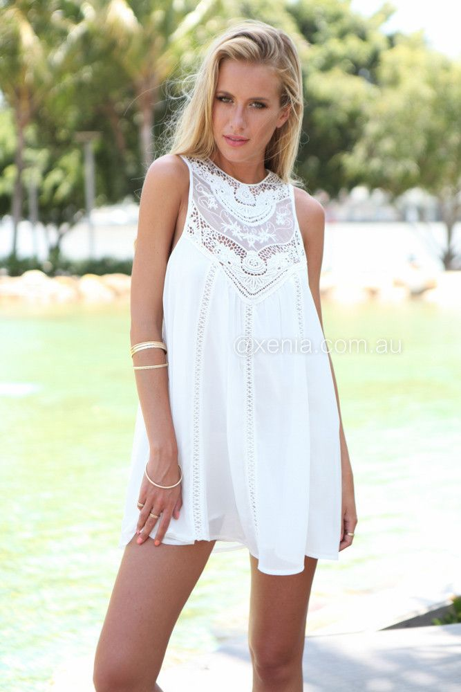 Summer dress xenia glass