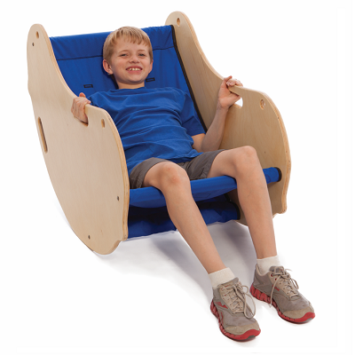 rocking chair for autistic child swivel wicker chairs moving mountains peanut products available at especial needs put some active seating in the sensory room or classroom then flip a stable stationary with