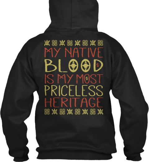 Native Blood   Ending Soon Black T-Shirt Back