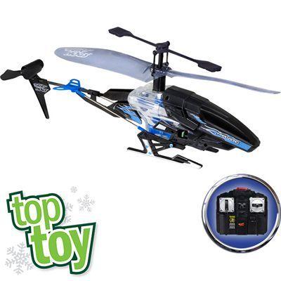 Air Hogs Havoc Heli Radio Control Helicopter Blue Black Christmas Wishlist Radio Control Black