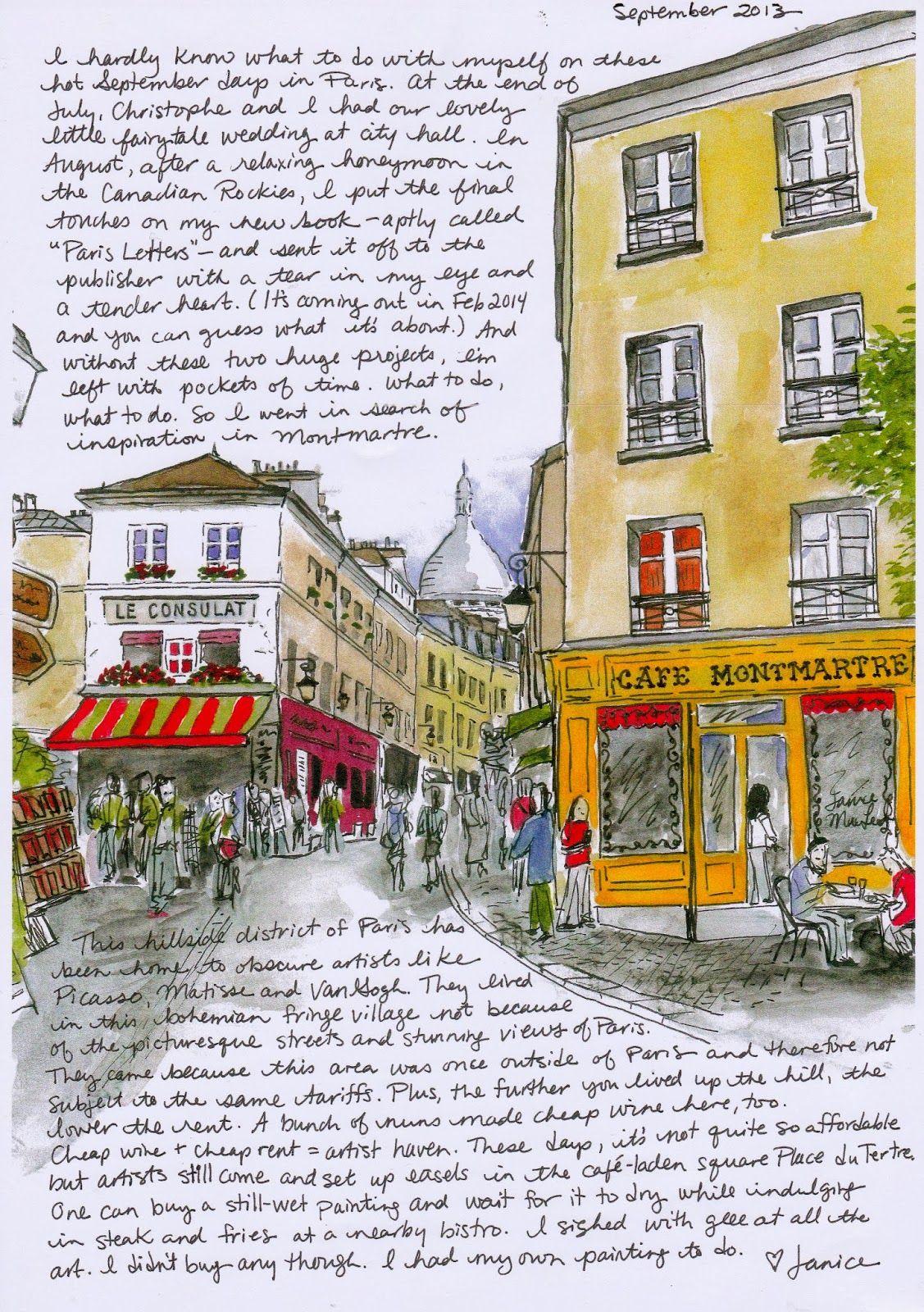 Paris Letters By Janice Macleod Arc Review Photo Contest