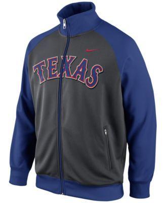 Nike Men S Texas Rangers Track Jacket Reviews Sports Fan Shop By Lids Men Macy S Los Angeles Dodgers Texas Rangers Dodgers