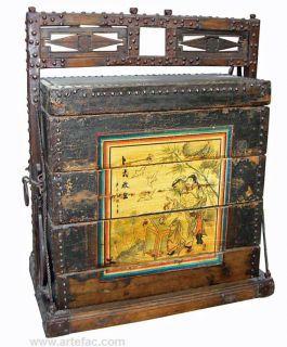 BR-20781 Antique Wedding Trunk