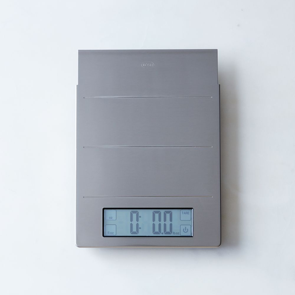 Digital kitchen scale and clock on food52 kitchen scale
