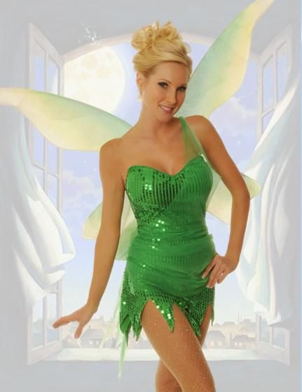 sexy-halloween-costumes-bumble-tinkerbelljpg 431 × 558 bildepunkter - green dress halloween costume ideas