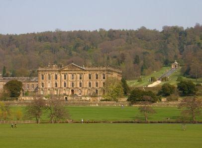 Chatsworth House, Derbyshire England