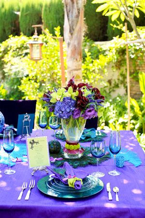 JessicaS Wedding Plans Purple And Turquoise  April