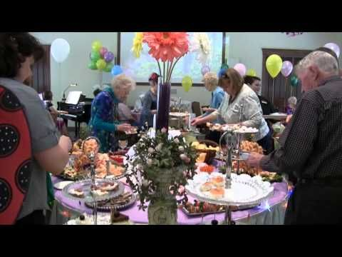 Mother's Day Garden Party at Courtyard at Jamestown Assisted Living (+pl...