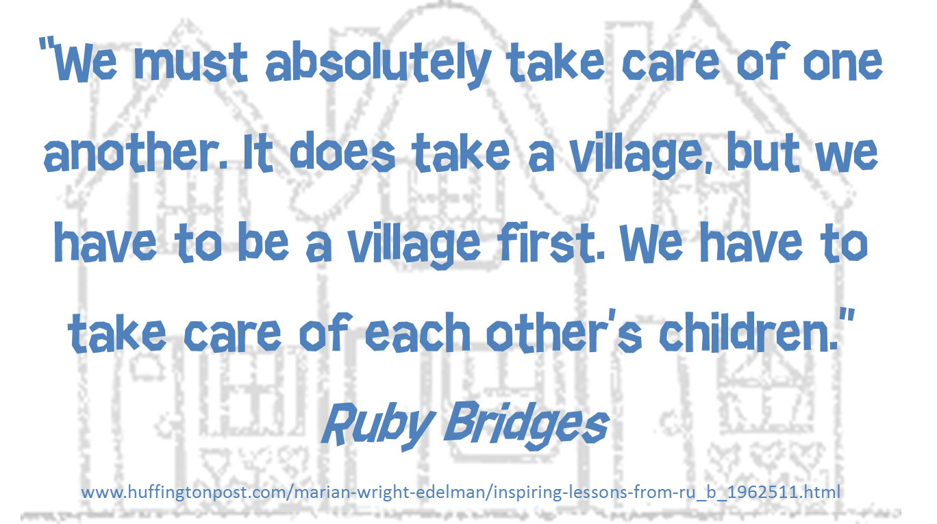 Ruby Bridges Quotes Ruby Bridges As Quotedmarian Wright Edelman  Teaching Related
