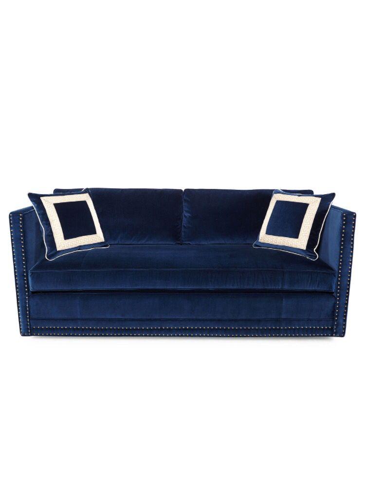 blue suede sofa home sweet home velvet sofa sofa blue rh pinterest com blue suede corner sofa dark blue suede sofa
